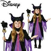 【送料無料】【あす楽】ハロウィン衣装子供ディズニー女の子仮装コスチュームVILLAINSChildMaleficentマレフィセント眠れる森の美女コスプレハロウインイベントハロウィーン