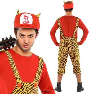 萬聖節服裝化裝服裝服裝女士超級惡魔兄弟紅色紅色惡魔怪物系列角色扮演方事件萬聖節萬聖節