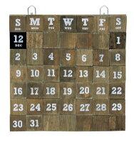 マグネット万年カレンダーBLBT2823ブラウン