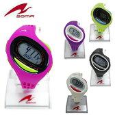 送料無料 あす楽対応 ランニングウォッチ soma RunONE 100SL DWJ09 ミディアムサイズ ジョギング ウォーキング マラソン ウォッチ 腕時計 スポーツウォッチ スポーツを楽しむための時計 メンズ レディース ユニセックス