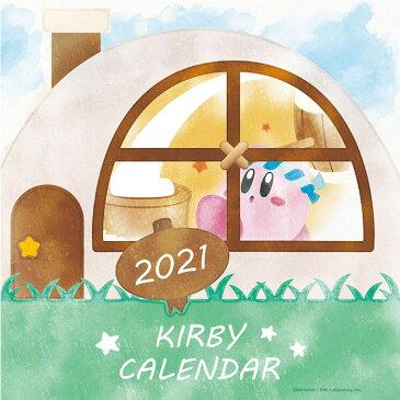 予約 11/14 発売開始 予定 メール便 カレンダー 2021 卓上 アニメ メール便 星のカービィ