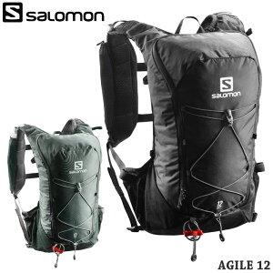 SALOMON サロモン バックパック リュック AGILE 12 SET メンズ/レディース ランニング 全2色 リュックサック トレイルランニング トレラン ブランド 登山 トレッキング 長距離 軽量 送料無料