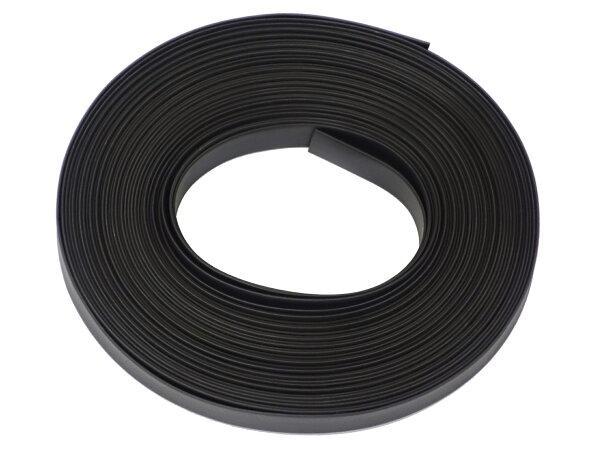 熱収縮チューブ内径8mmφ8ブラック(黒色)長さ20m切り売り印字無しで綺麗 シュリンクチューブ絶縁チューブ防水高難燃性収縮チュ