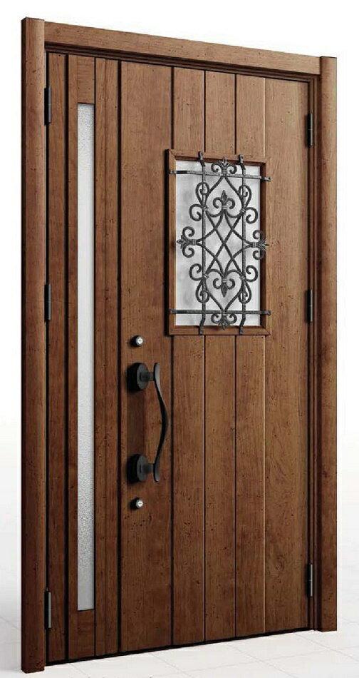 【さいたま市内 標準価格】 D41型 LIXIL/リクシル リシェント3 リフォーム 玄関ドア 取替え 交換 断熱仕様 親子 簡単施工 1DAYリフォーム 片開き・ランマ付等対応可【工事費込 送料込】