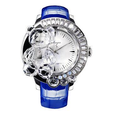 ガルティスコピオ腕時計DARMIUNABBRACCIO熊8ブルー