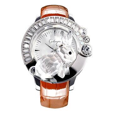 ガルティスコピオ腕時計DARMIUNABBRACCIO兎9ブラウン
