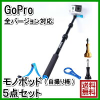 【GoPro】GoProモノポッド(セルカ棒)+ストラップ+専用レンチ+スクリューセット軽量高剛性HERO4HERO3HERO3+HERO2に利用可能なアクセサリー自撮り棒マウント一脚セルフィーsmapoleS1Smatreeゴープロじどり棒session