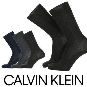 セール!30%OFFCalvin Klein カルバンクライン日本製 消臭加工 スーピマ綿使用 太リブ クルー丈 メンズ ビジネス ソックス 靴下 男性 紳士 プレゼント ギフト02562123
