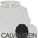 セール!Calvin Klein Women's Underawear3D CURVE カーブ フーディ レディス コットン モダール パーカー日本サイズ(S・M)53-QS6120