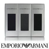 【送料無料】EMPORIO ARMANI ( エンポリオ アルマーニ ) メンズ ソックス オールシーズン用 靴下 Dress リブ クルー丈 ソックス ブランド靴下3足組ギフトセットEA-3Pポイント10倍
