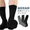 足もと涼しい・ムレ予防 クールビズ 総メッシュ無地 日本製メンズ 夏用 ビジネス ソックス 靴下 2912-001ポイント10倍