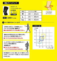 HOLZAC(ホルザック)膝サポーターひざシリコンサポーター左右共用男女兼用【1枚】膝用膝痛膝関節2996-801バレンタインプレゼントポイント10倍