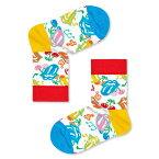 セール!41%OFFHappy Socks ハッピーソックス【Limited】 Happy Socks × The Rolling Stones ( ローリングストーンズ ) THUMBLING DICE ( タンブリング ダイス )子供 クルー丈 綿混 ソックス 靴下KIDS ジュニア キッズ 12217009