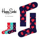 セール!40%OFFHappy Socks ハッピーソックスSMILEY HEART ( スマイリー ハート )クルー丈 綿混 ソックス 靴下ユニセックス メンズ & レディスプレゼント 贈答 ギフト1A113029ポイント10倍