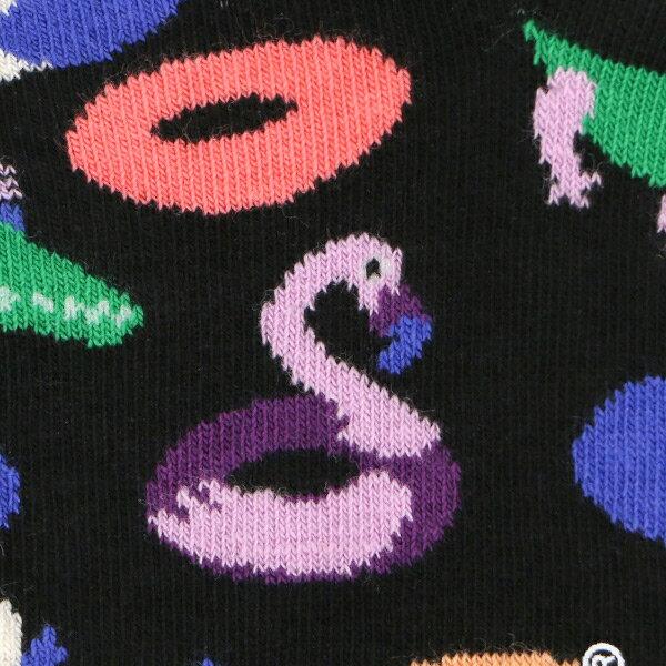 【ポイント20倍】Happy Socks ハッピーソックスPOOL PARTY ( プール パーティー )スニーカー丈 綿混 ソックス 靴下ユニセックス メンズ & レディス1A123006母の日 無料ラッピング