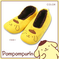 pompompurin(ポムポムプリン)プリントフェイスルームシューズ3766-318