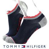 TOMMY HILFIGER|トミーヒルフィガーCasual 日本製 メンズ メッシュ ソックス 靴下 綿混 バイカラー ロゴ入りデザイン フットカバー ショートソックス男性 メンズ プレゼント 贈答 ギフト2552-330ポイント10倍