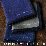 TOMMY HILFIGER|トミーヒルフィガー 無料 トミー ブランド ラッピング OKピンドット柄 綿100% ハンカチ男性 メンズ プレゼント 贈答 ギフト2582-103ポイント10倍
