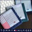 TOMMY HILFIGER トミーヒルフィガー 無料 トミー ブランド ラッピング OKストライプチェック柄 綿100% ハンカチ2582-111プレゼント 誕生日 ギフト 贈答品 お祝いポイント10倍