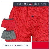 セール!50%OFFTOMMY HILFIGER トミーヒルフィガー Flag Woven Boxer Geo コットン ジオ トランクス 5335-5235男性 下着 メンズ プレゼント 誕生日 ギフト 彼氏ポイント10倍