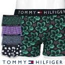 TOMMY HILFIGER トミーヒルフィガーTRUNK HIBISCUS PRINTハイビスカス プリント コットン ボクサーパンツ EUサイズ 53311831男性 メンズ 紳士 プレゼント ギフト 公式ショップ 正規ライセンス商品