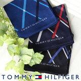 TOMMY HILFIGER|トミーヒルフィガー 無料 トミー ブランド ラッピング OKダイアゴナルチェック柄 ハンカチ2582-135男性 メンズ プレゼント 贈答 ギフトポイント10倍