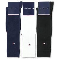 TOMMYHILFIGER トミーヒルフィガースクールソックスワンポイント刺繍32cm丈レディスハイソックス靴下3481-315ポイント10倍