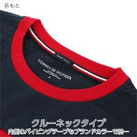 TOMMYHILFIGER|トミーヒルフィガーCCNSSTEEPRINTプリント半袖丸首綿100%Tシャツ5330-1788男性メンズプレゼント贈答ギフト父の日ポイント10倍