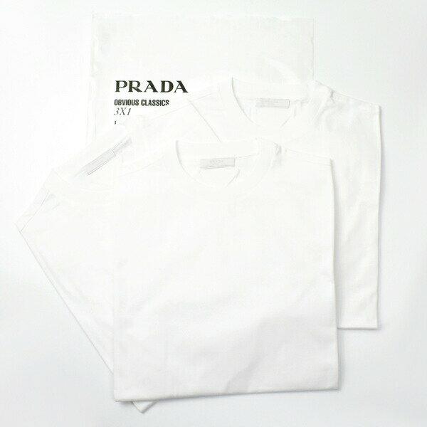 トップス, Tシャツ・カットソー PRADA T 3 UJL531 F0009BIANCO T
