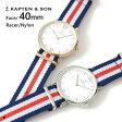 キャプテン&サン KAPTEN&SON 腕時計 ウォッチ 40mm Racer レーサー レディース メンズ ユニセックス