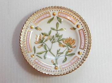 ロイヤルコペンハーゲン プレート■フローラダニカ バタープレート 小皿 1枚 植物図鑑 1級品 美品 2