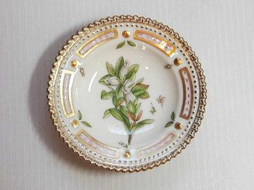 ロイヤルコペンハーゲン プレート■フローラダニカ バタープレート 小皿 1枚 植物図鑑 1級品 美品 6