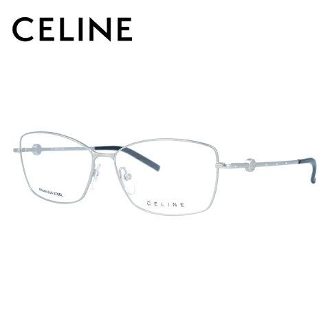 【伊達・度付きレンズ無料】セリーヌ メガネ フレーム 眼鏡 VC1243S 55サイズ 0581 度付きメガネ 伊達メガネ ブルーライト 遠近両用 老眼鏡 レディース スクエア 【CELINE】