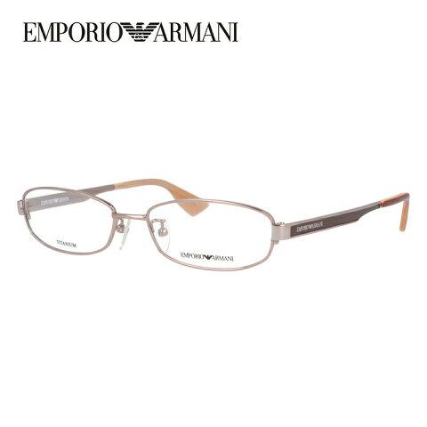 【伊達・度付きレンズ無料】エンポリオアルマーニ メガネ フレーム 眼鏡 EA1133J HQ6 53サイズ スクエア 度付きメガネ 伊達メガネ ブルーライト 遠近両用 老眼鏡 メンズ レディース ユニセックス ブランド ロゴ 【EMPORIO ARMANI】