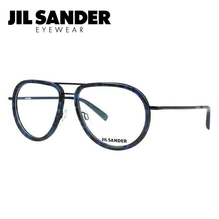 眼鏡・サングラス, 眼鏡  J2008-B 57 JIL SANDER
