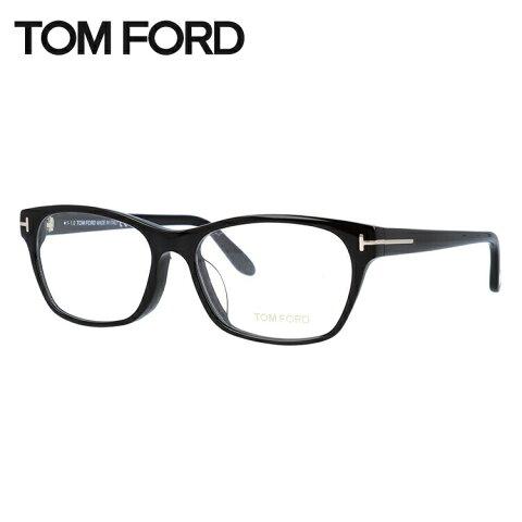 トムフォード メガネ フレーム 0円レンズ対象 TF5405F 001 54サイズ(FT5405F) メンズ レディース ユニセックス 伊達メガネ 度付きメガネ スクエア アジアンフィット 新品【TOM FORD】