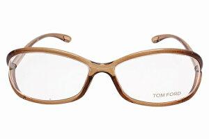 【伊達・度付・PCレンズ対応】【0円レンズ対応】トムフォード眼鏡TOMFORDTF504580456サイズメガネフレームセル/ハーフリム/ラウンド/レディース