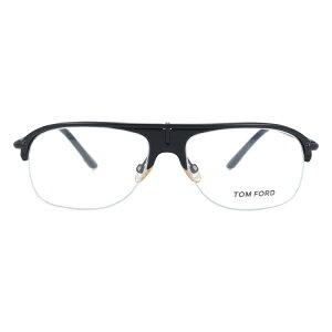 【伊達・度付・PCレンズ対応】【0円レンズ対応】トムフォード眼鏡TOMFORDTF5046B556サイズメガネフレームセル/ティアドロップ/ハーフリム/メンズ