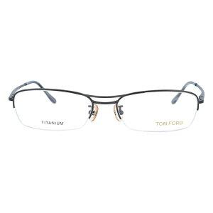 【伊達・度付・PCレンズ対応】【0円レンズ対応】トムフォード眼鏡TOMFORDTF5063BR54サイズメガネフレームチタン/スクエア/ハーフリム/メンズ