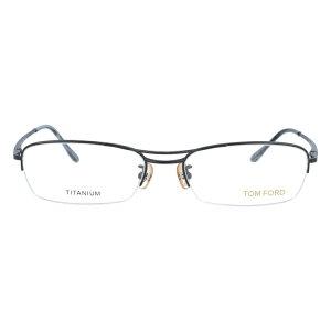 【伊達・度付・PCレンズ対応】【0円レンズ対応】トムフォード眼鏡TOMFORDTF5064BR55サイズメガネフレームチタン/スクエア/ハーフリム/メンズ