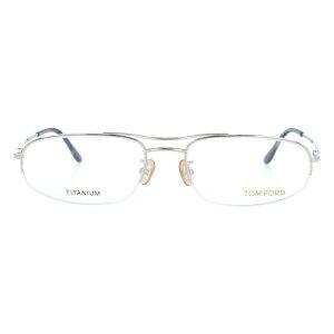 【伊達・度付・PCレンズ対応】【0円レンズ対応】トムフォード眼鏡TOMFORDTF5064F8055サイズメガネフレームチタン/スクエア/ハーフリム/メンズ