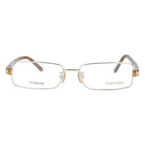 【伊達・度付・PCレンズ対応】【0円レンズ対応】トムフォード眼鏡TOMFORDTF506575354サイズメガネフレームチタン/スクエア/メンズ