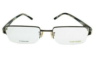 【伊達・度付・PCレンズ対応】【0円レンズ対応】トムフォード眼鏡TOMFORDTF506624754サイズメガネフレームチタン/スクエア/ハーフリム/メンズ