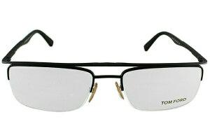 【伊達・度付・PCレンズ対応】【0円レンズ対応】トムフォード眼鏡TOMFORDTF5077BR54サイズメガネフレームメタル/ハーフリム/スクエア/メンズ