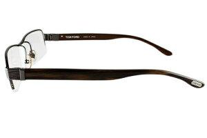 トムフォード眼鏡TOMFORDTF510773155サイズメガネメガネフレームチタン/スクエア/ハーフリム/メンズ