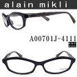 alain mikli アランミクリ メガネフレーム A00701J-4111 眼鏡 伊達メガネ 度付き ネイビー メンズ glasspapa