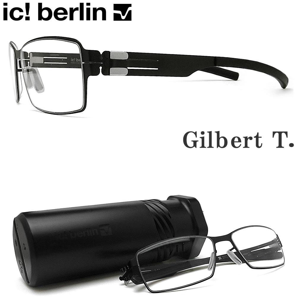 眼鏡・サングラス, 眼鏡 ic! berlin Gilbert T. BLACK