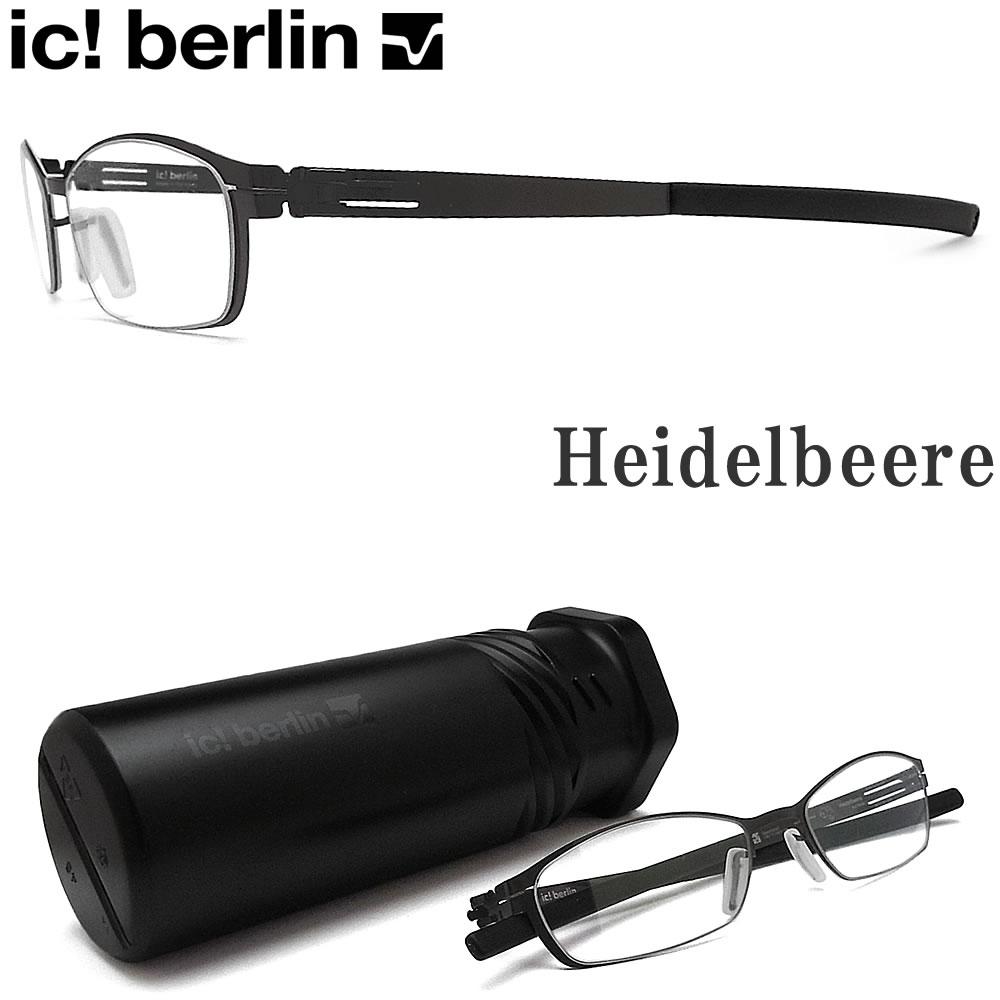 眼鏡・サングラス, 眼鏡 ic! berlin Heidelbeere Gunmetal