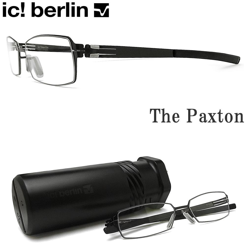 眼鏡・サングラス, 眼鏡 ic! berlin The Paxton Gunmetal