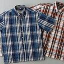 発祥の地マドラスで作られた涼感シャツ2枚、プラスハンカチセットシアサッカーマドラスチェック...